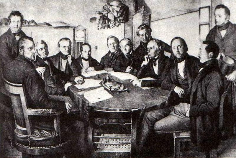 Direktorium Leipzig-Dresdner-Eisenbahn-Compagnie 1852