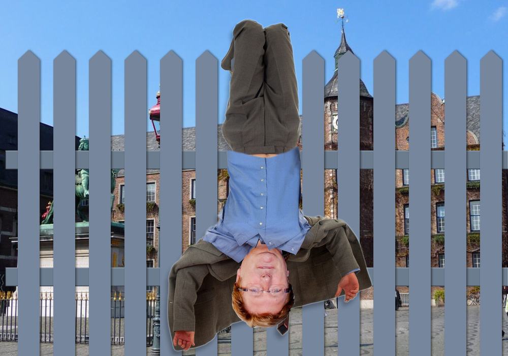 Nun hängt Elbers (politisch) tot überm Zaun