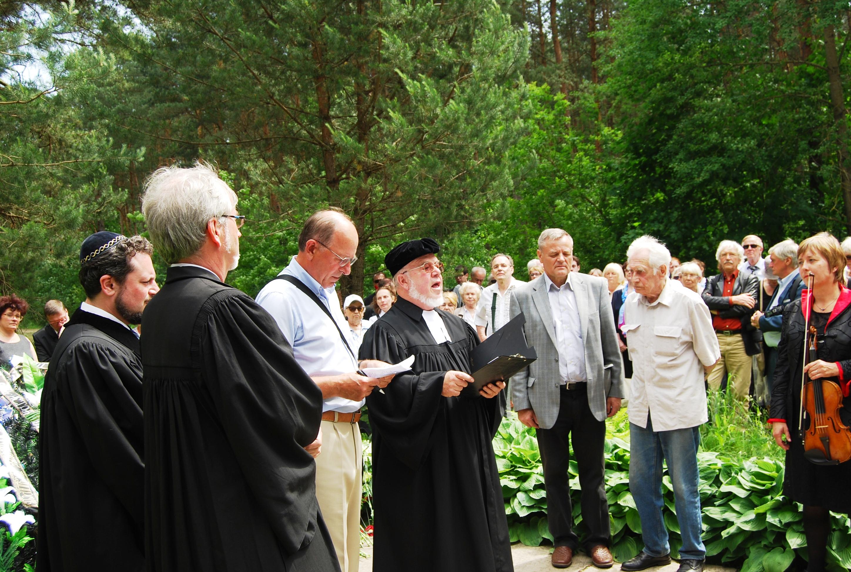 Neue Gedenkstätte für die Opfer des Nationalsozialismus in der Nähe von Minsk