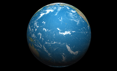 Wasserplanet Erde