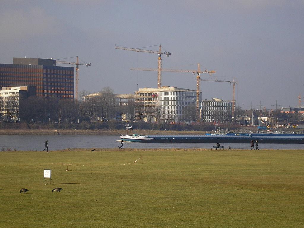 Nachhaltig gebautes Gebäude in Köln