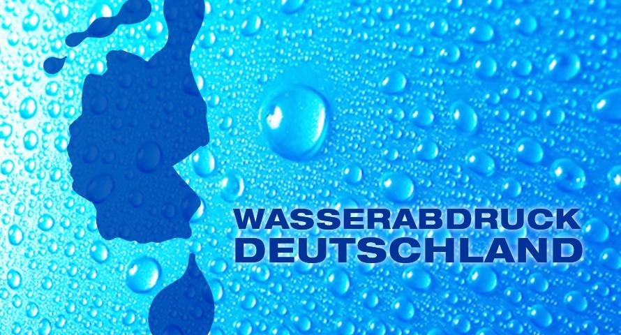 Wasserabdruck