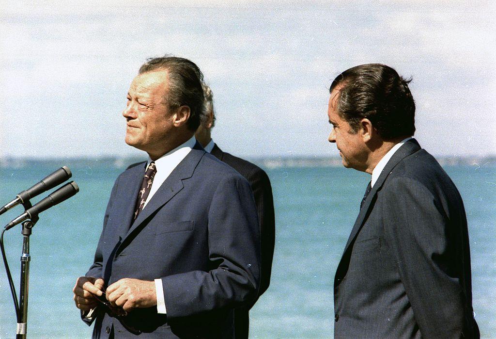Willy Brandt, Richard Nixon