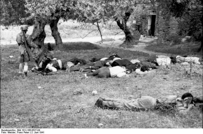 Erschießung von Zivilisten in Kondomari, Kreta 1941