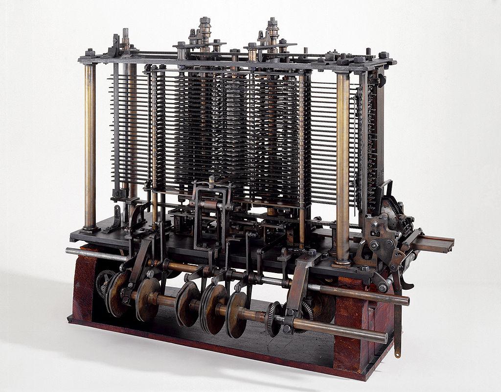 Rechenmaschine von Babbage