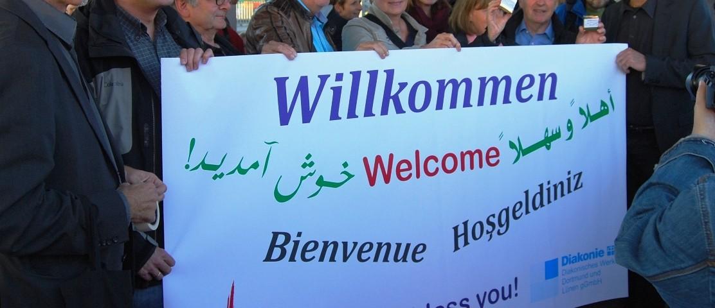 Willkommenskultur in Dortmund
