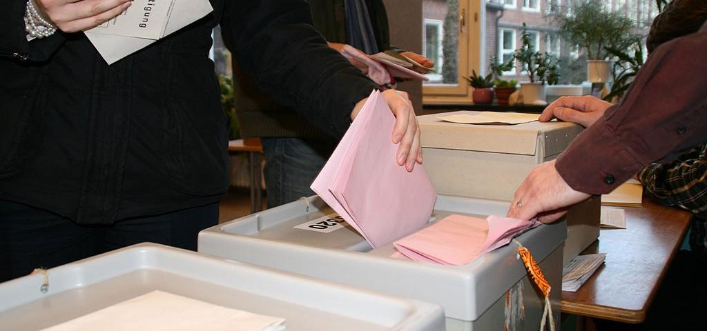 Stimmabgabe Wahllokal