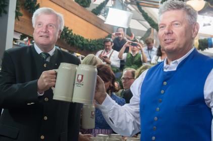Horst Seehofer Oktoberfest 2015