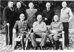 Trent Park Camp, gefangene deutsche Offiziere
