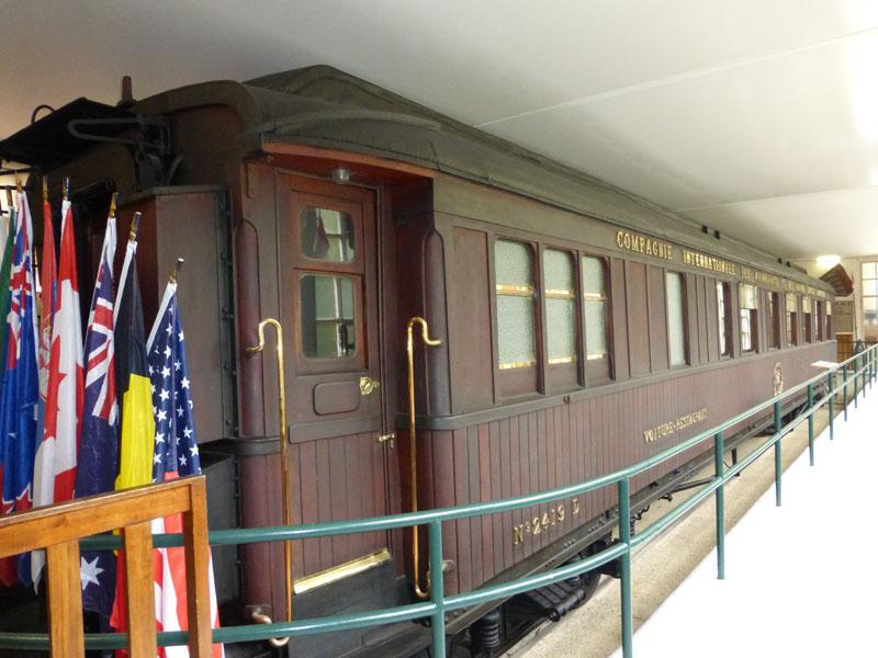 Eisenbahnwaggon Compiegne