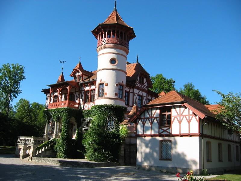 Altes deutsches Haus