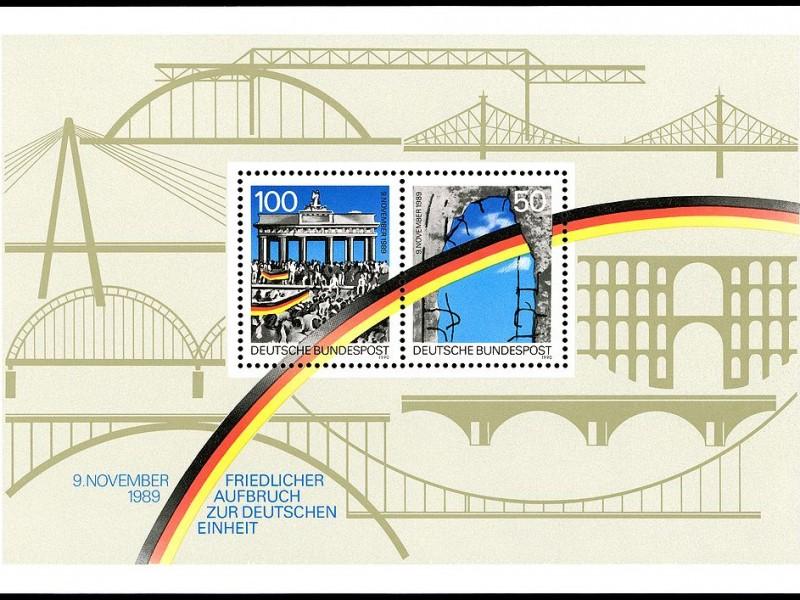 Briefmarke Mauerfall