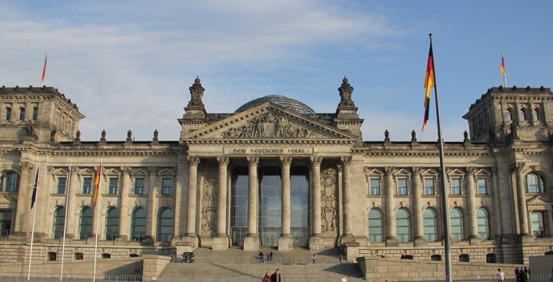 Reichstagsgebäude, Deutscher Bunrstag