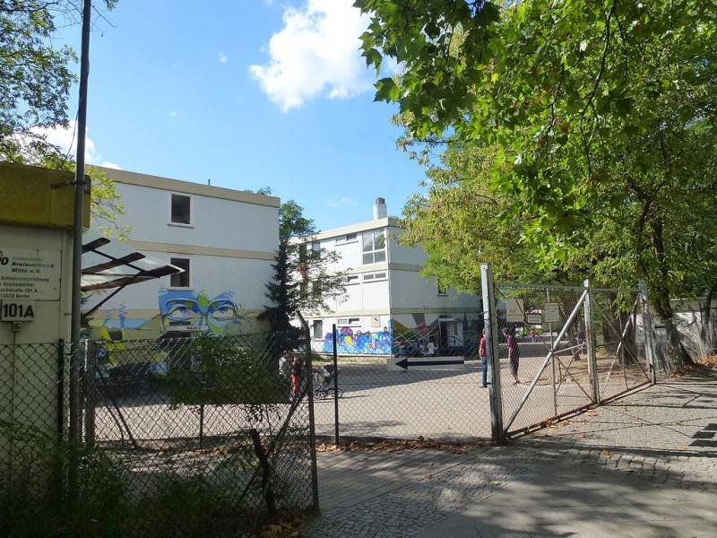 Asylbewerberheim Siemensstadt