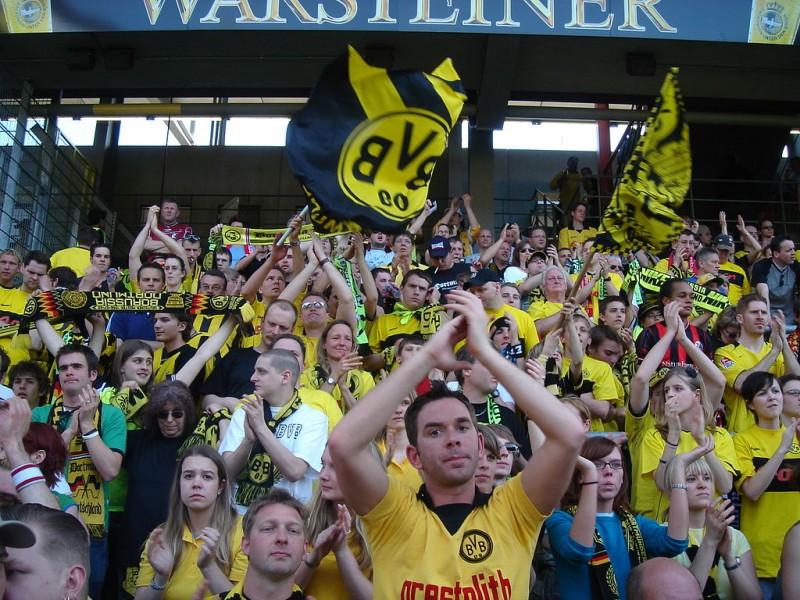 Fans Borussia Dortmund