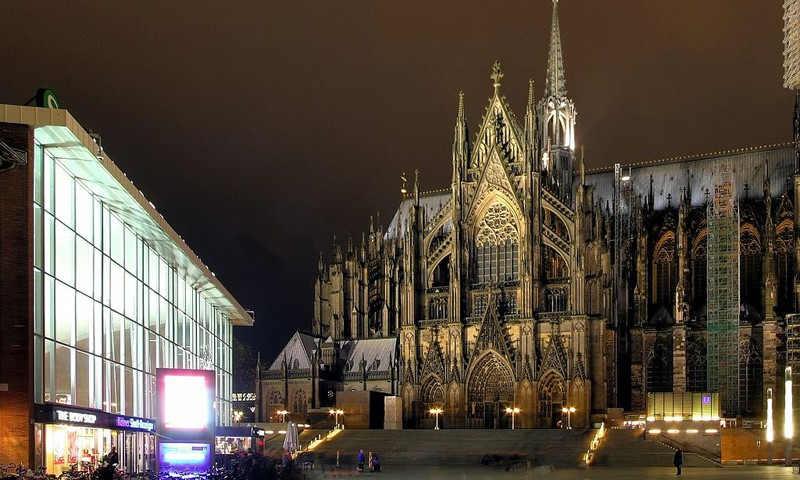 Kölner Dom Nordseite