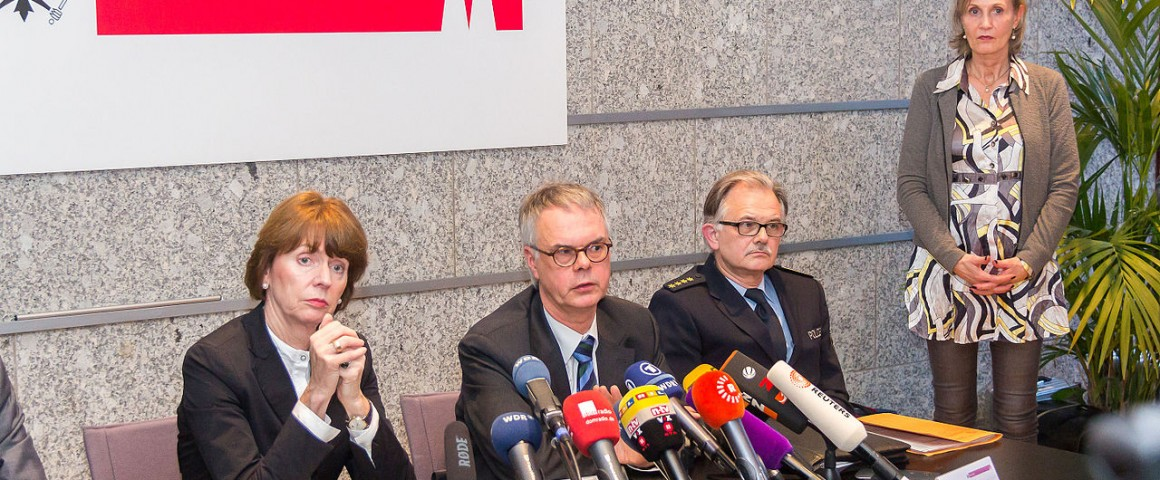 Pressekonferenz Köln Albers, Rekers