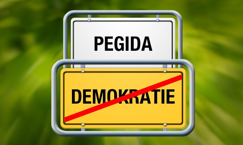 Pegida: Ende der Demokratie