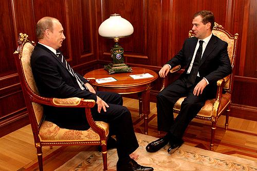 Putin und Medvedev