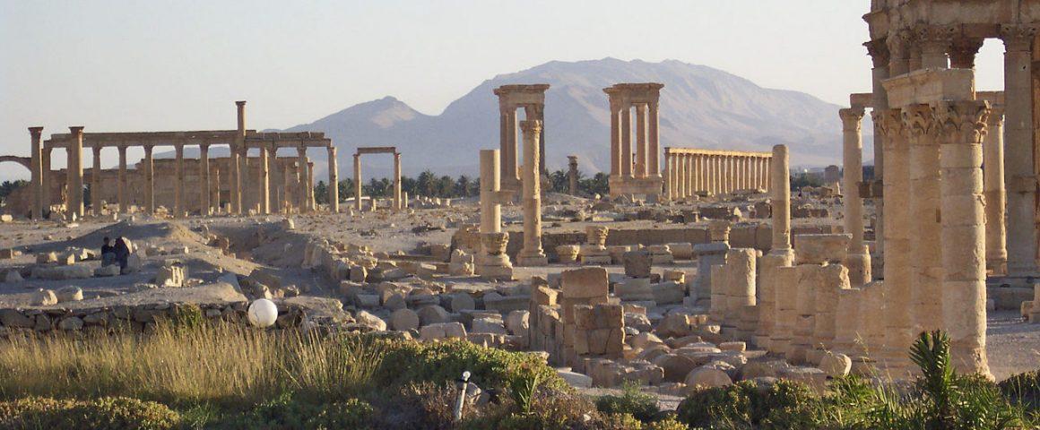 Palmyr vor der Zerstörung durch IS