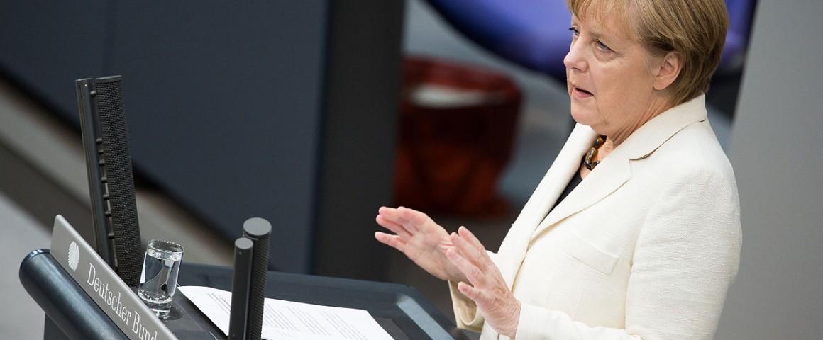"Angela Merkel Foto: Tobias Koch"""