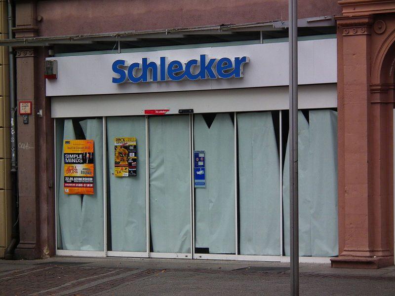Ehemalige Schlecker-Filiale Karlsruhe Innenstadt 2012