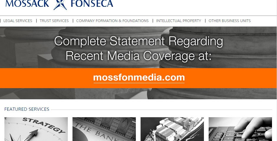 Website Mossack Fonseca