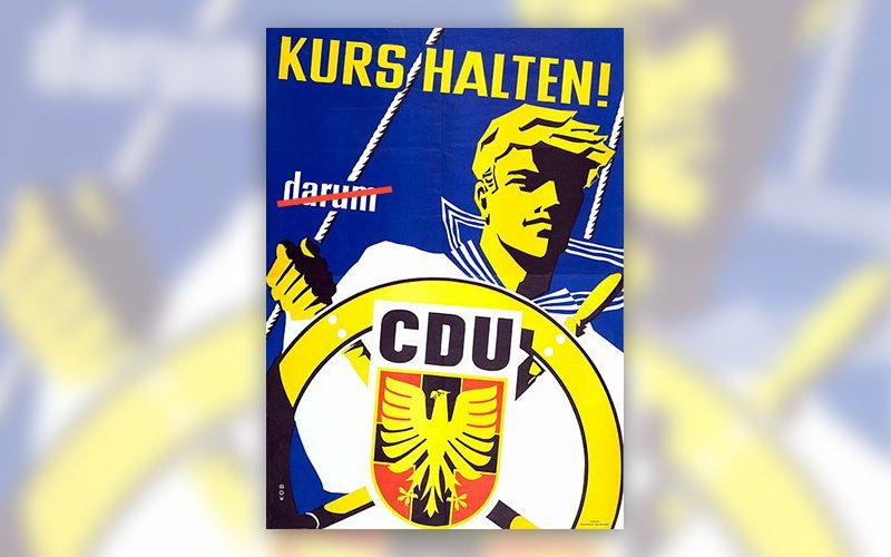 CDU Plakat