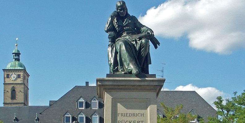 Rückert-Denkmal in Schweinfurt