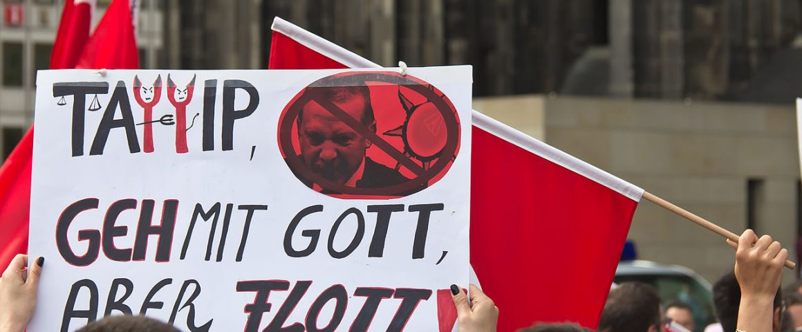 Proteste in Köln2013 gegen Erdogan