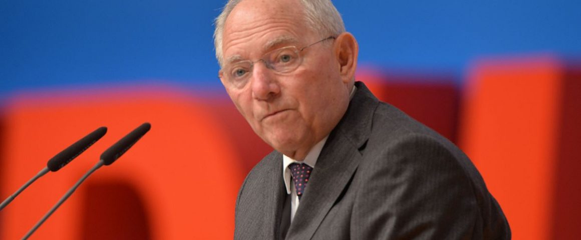 Wolfgang Schäuble, Bildquelle: Olaf Kosinsky/Skillshare.eu