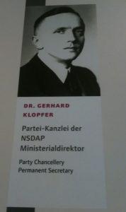 Naziverbrecher Gerhard Klopfer