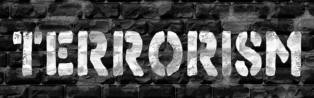 Banner Terrorismus