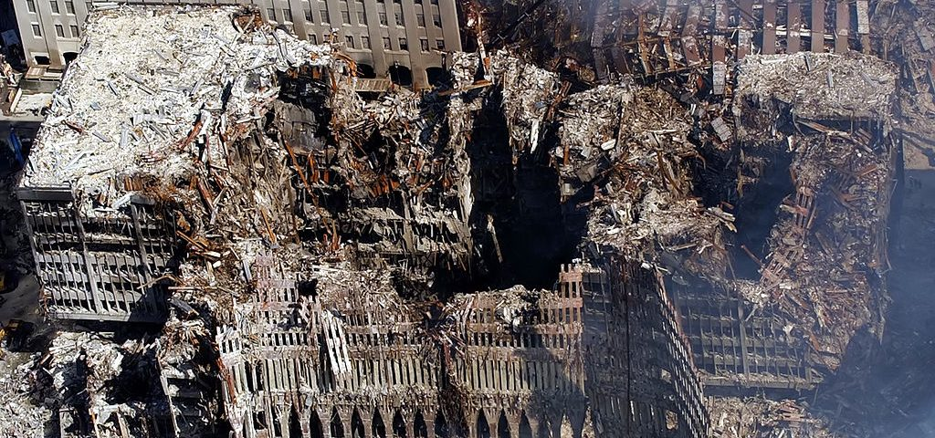 Ground Zero, New York 2001