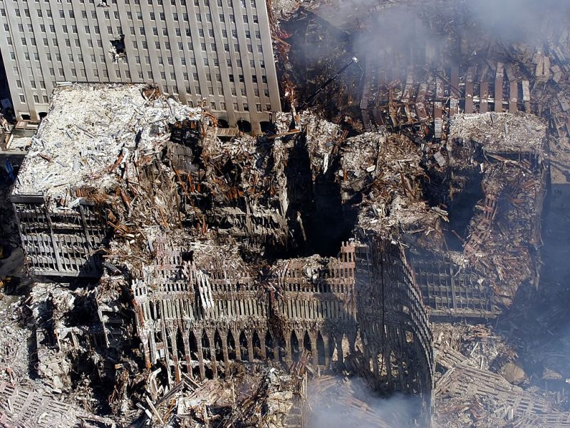 Ground Zero, New York 2001