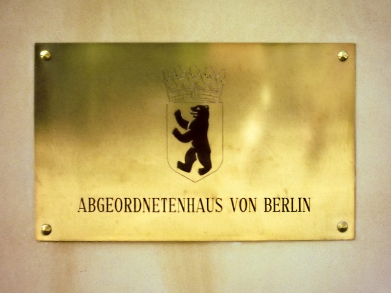 Berlin Abgeordnetenhaus