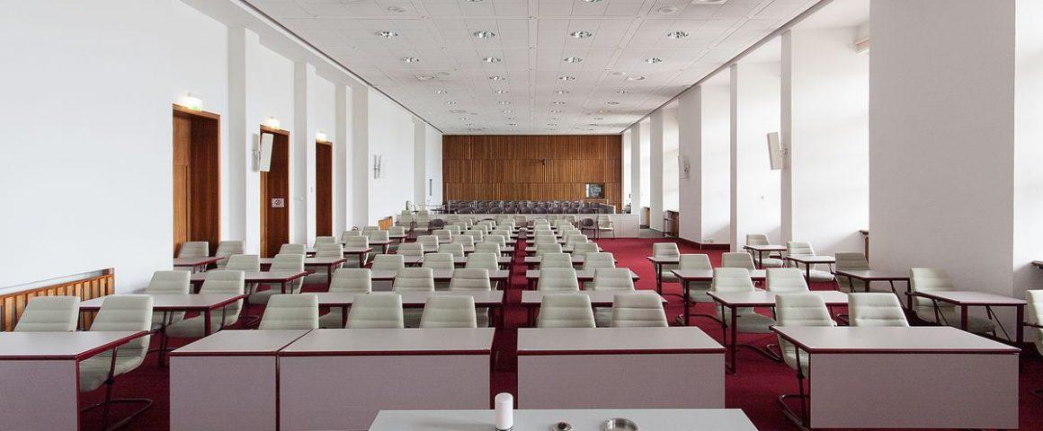 Plenarsaal LAndtag Mecklenburg-Vorpommern