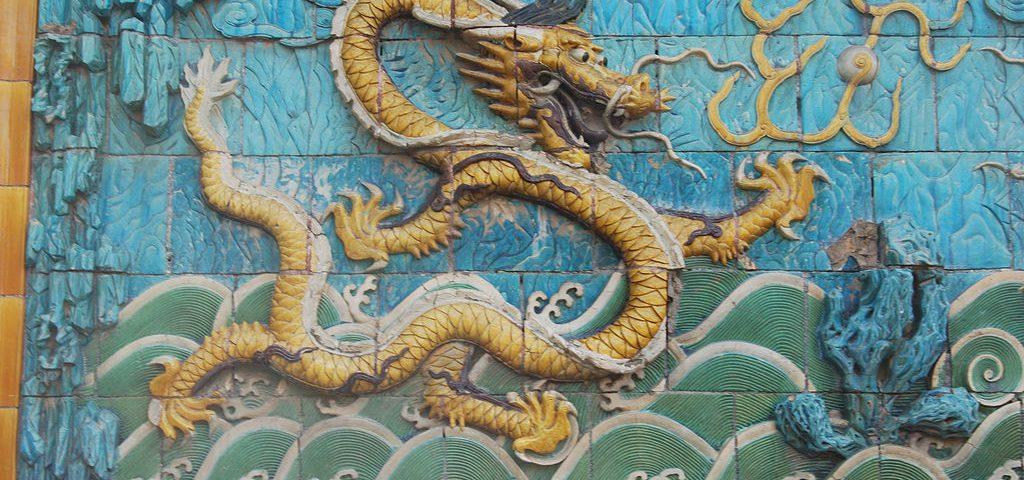 Drachen-Mauer Peking