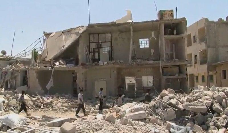 Bomben im Syrischen Bürgerkrieg 2012