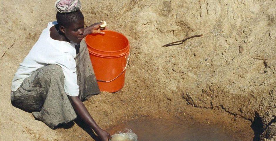 Wasserquelle in Tansania