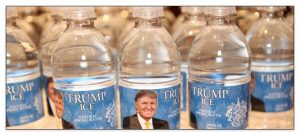 Trump Ice Spring Water