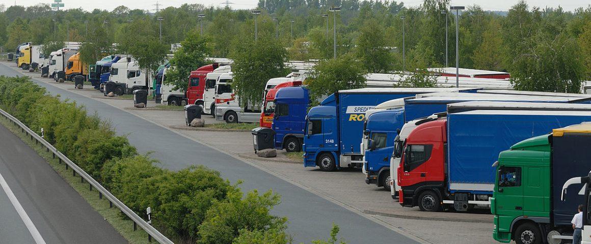 Autobahnrastplatz
