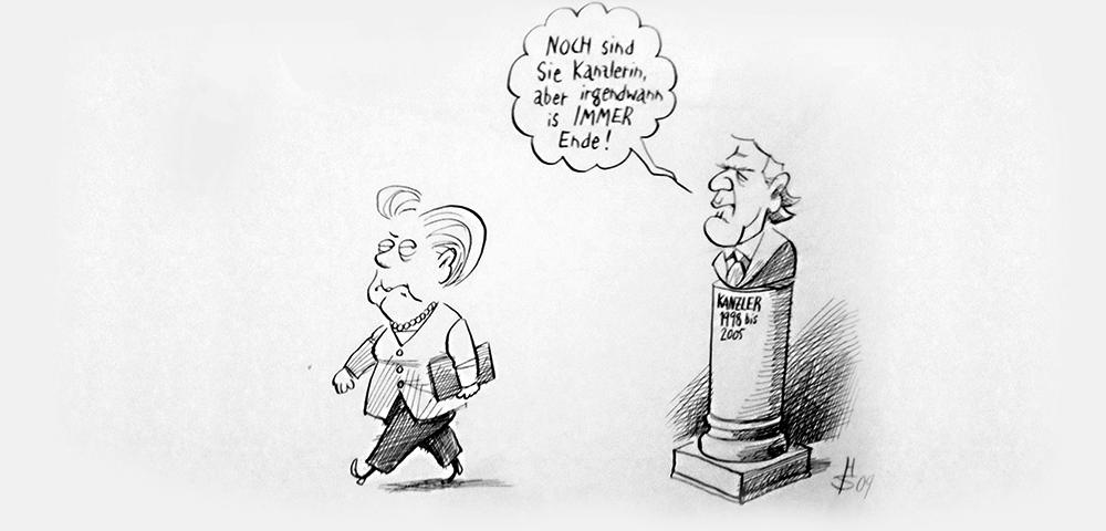 Merkel Karikatur