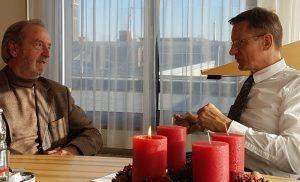 Alfons Pieper im Gespräch mit Dr. Hensel