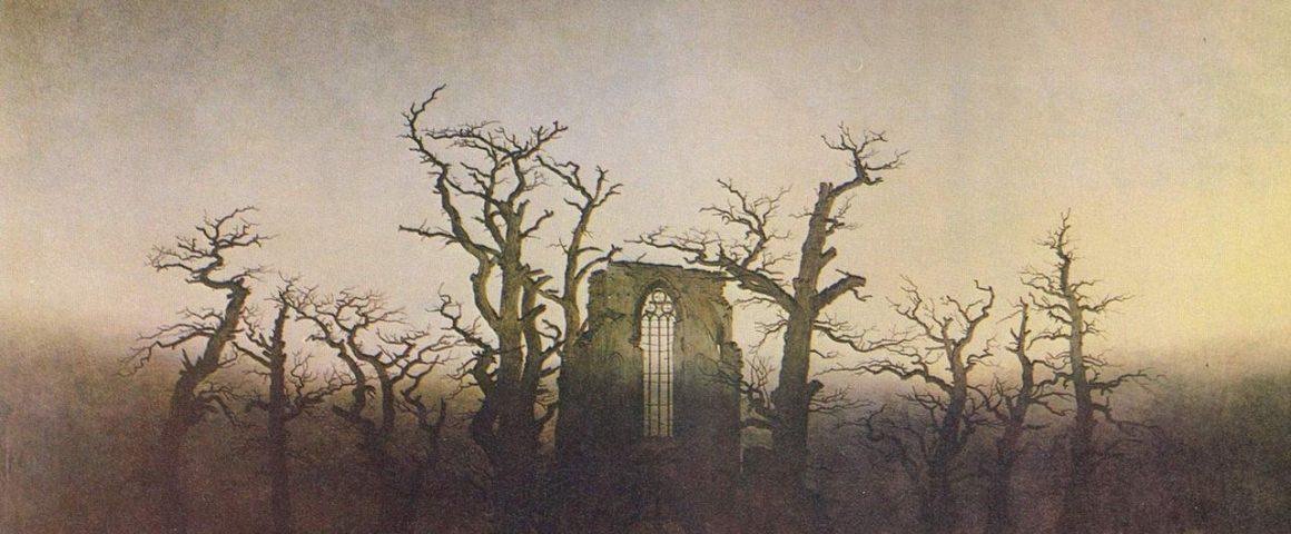 """Bild von Caspar David Friedrich, """"Abtei im Eichwald"""""""