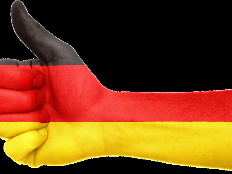 Deutschland: Daumen hoch