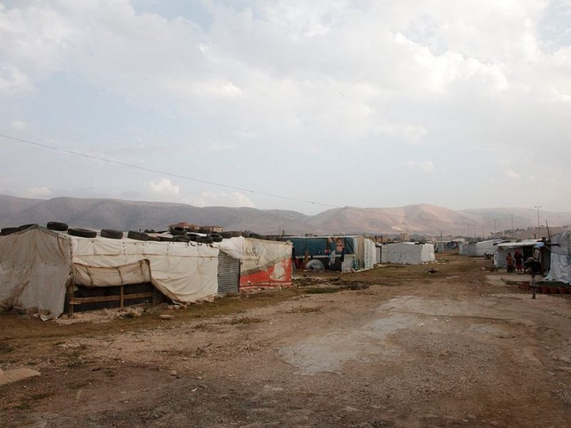 Flüchtlingslager Libanon