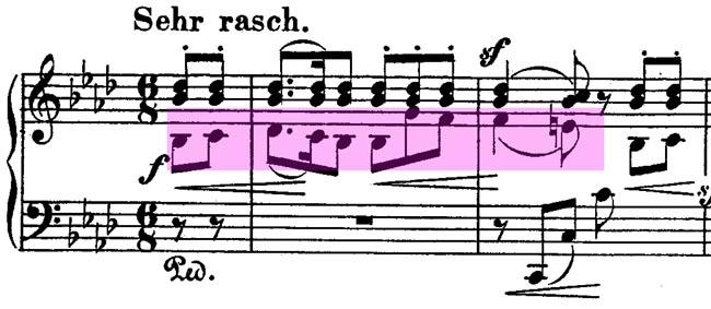 Schumann: Fantasiestücke op. 12, 2 Aufschwung