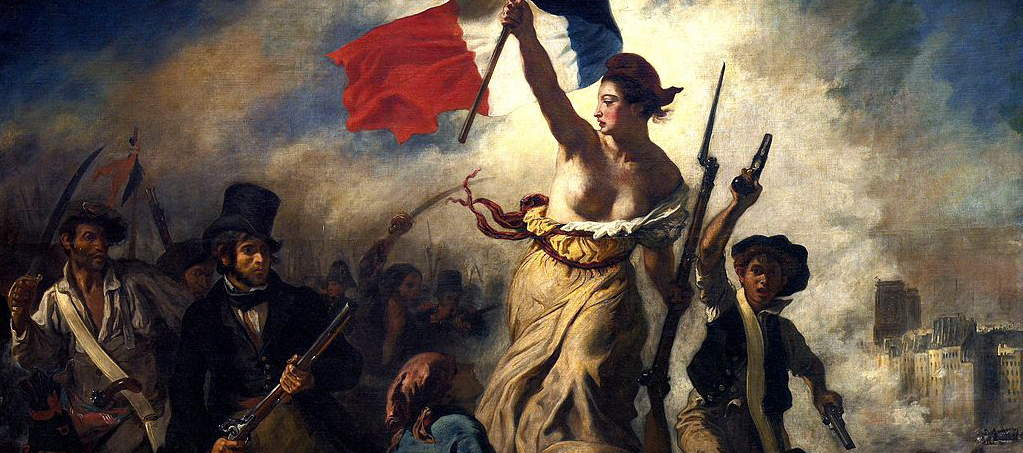 Liberty Leading the People by Eugène Delacroix (1830)