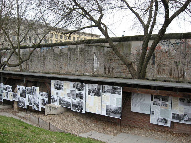 """Ausstellungsgelände """"Topographie des Terrors"""" Berlin"""